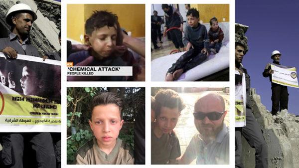 Süüria poiss väidab, et ta värvati lavastama keemiarünnakut.
