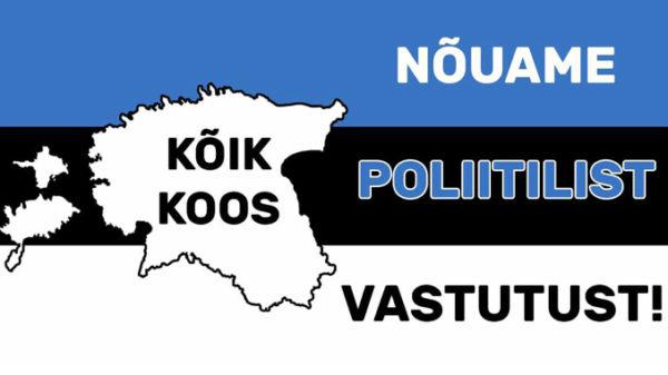 """20 augustil toimub Raplamaal Kuusiku lennuväljal meeleavaldus """"Nõuame poliitilist vastutust"""""""