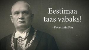 Eesti vabariigi ekspresident liitus Seisame Eestimaa taas vabaks meeleavaldusega